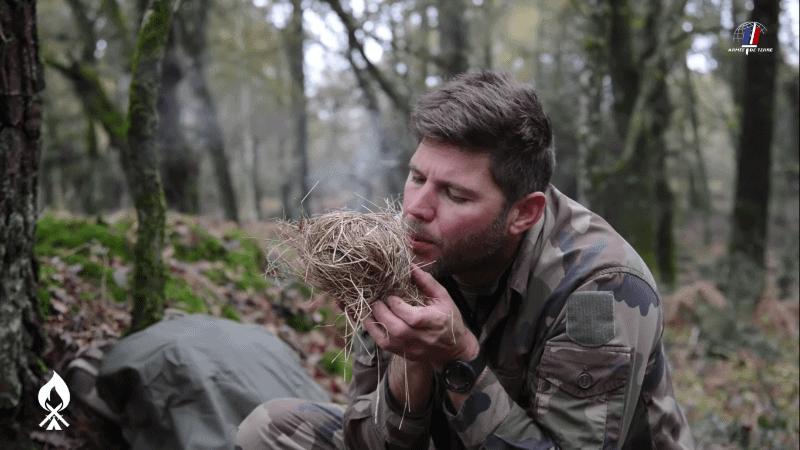 Dans l'armée de terre, la survie est essentielle.